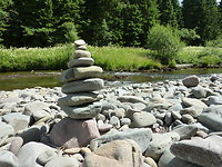 Mindfulness, Self Compassion and Labyrinth walks. Mindfulness Stones